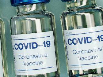 Covid-19 Vaccine Bottle Mockup