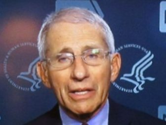 Dr, Fauci, the one we trust.