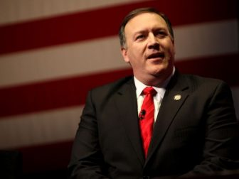 Congressman Mike Pompeo speaking at the 2012 CPAC in Washington, D.C.