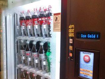 My Coke Rewards vending machine