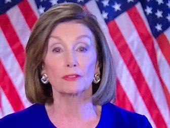 Nancy Pelosi on MSNBC