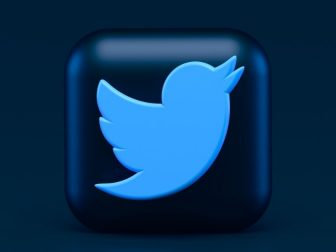 Twitter 3d Icon Concept