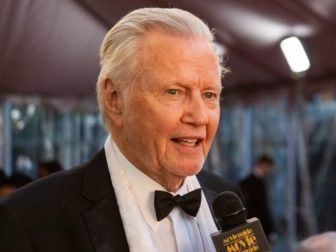 Jon Voight and Evy Baehr Carroll at the University City Hilton Hotel 27th Annual Movieguide® Awards,