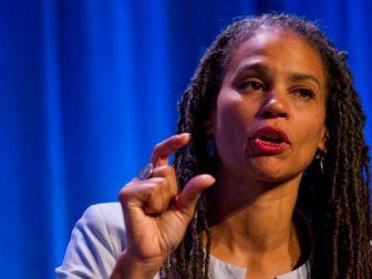 Maya Wiley at the WKKF 2013 Michigan Convening