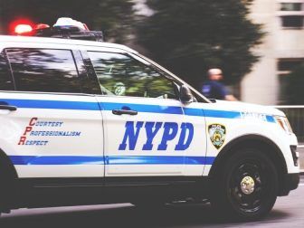 NYPD Car racing in New York