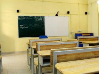 Classroom, smart classroom at Anjuman