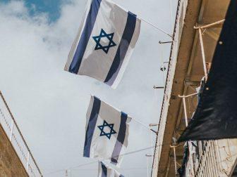 Flags in Israel