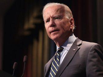 The above photo shows President Joe Biden on Nov. 2, 2020.