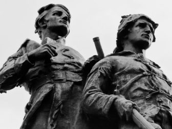 Lewis and Clark statue in Charlottesville, Virginia