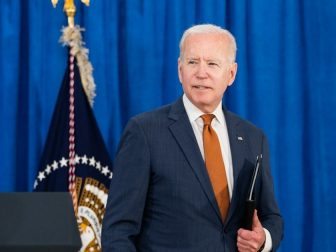 President Joe Biden delivers remarks on the May jobs report on Friday, June 4, 2021, at the Rehoboth Beach Convention Center in Rehoboth Beach, Delaware. (Official White House Photo by Adam Schultz)