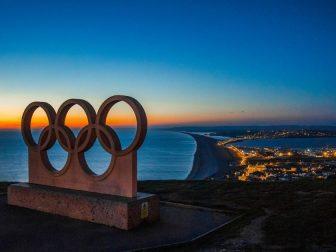 Olympic Symbol Landmark