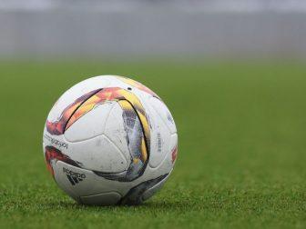 White and gray adiddas soccer ball