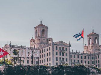 skyline of Cuban city