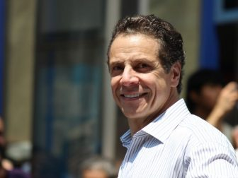 Andrew Cuomo is pictured above on June 30, 2013.