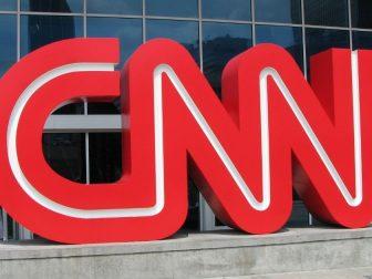 Outside CNN Center in Atlanta.