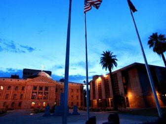 The Arizona Capitol Museum building in Phoenix, Arizona.