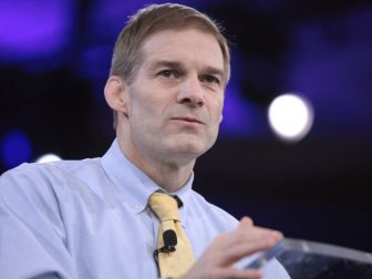 U.S. Congressman Jim Jordan of Ohio speaking at the 2016 Conservative Political Action Conference (CPAC) in National Harbor, Maryland.