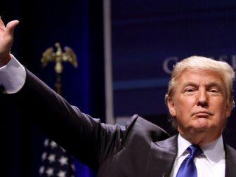 Donald Trump at CPAC 2011 in Washington, D.C.