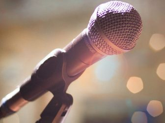 Close-Up Photography of Microphone