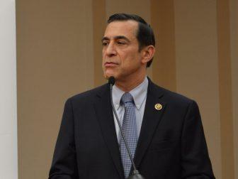Congressman Darrell Issa (R-CA) delivering keynote remarks