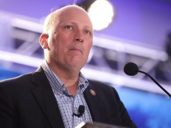 U.S. Congressman Chip Roy speaking with attendees at the 2019 Young Americans for Liberty Convention at the Sheraton Austin Hotel at the Capitol in Austin, Texas.