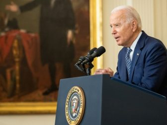 President Joe Biden delivers remarks on the passing of the bipartisan Infrastructure Investment and Jobs Act, Tuesday, August 10, 2021, in the East Room of the White House. (Official White House Photo by Adam Schultz)