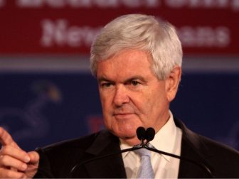 Former Speaker of the House Newt Gingrich speaks during the Republican Leadership Conference in 2011.