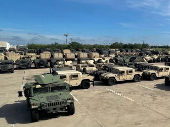 The Texas National Guard continues to surge resources & personnel to the border.