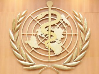 Logo of the World Health Organization
